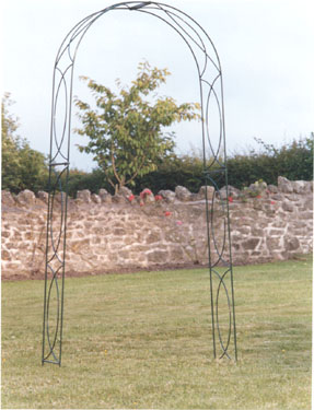 CROSSOVER GARDEN ARCHES GREEN 3 FOOT OPENING