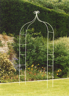 Camelot Garden Arch From Wessex Forge Uk Wrought Iron Hand